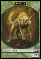 2014 Core Set: Wolf Token