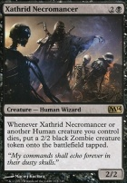 2014 Core Set Foil: Xathrid Necromancer