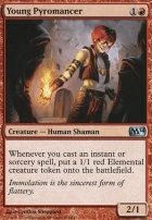 2014 Core Set Foil: Young Pyromancer