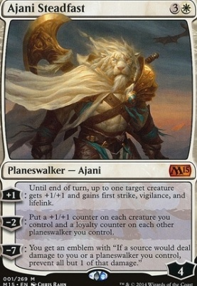 2015 Core Set Foil: Ajani Steadfast