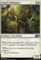 2015 Core Set: Ajani's Pridemate