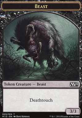 2015 Core Set: Beast Token (Kendall)