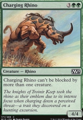 2015 Core Set: Charging Rhino