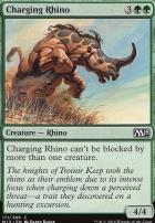 2015 Core Set Foil: Charging Rhino