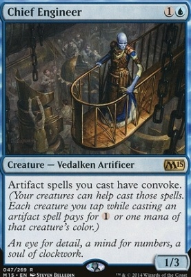 2015 Core Set Foil: Chief Engineer