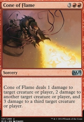 2015 Core Set Foil: Cone of Flame