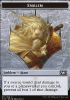 2015 Core Set: Emblem (Ajani Steadfast)
