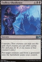 2015 Core Set Foil: Endless Obedience