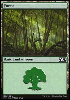 2015 Core Set: Forest (266 A)
