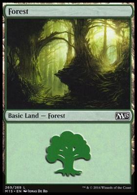 2015 Core Set: Forest (269 D)