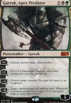 2015 Core Set Foil: Garruk, Apex Predator