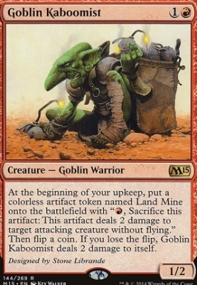 2015 Core Set: Goblin Kaboomist