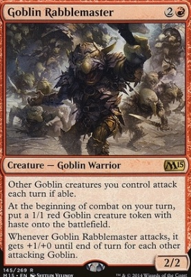 2015 Core Set: Goblin Rabblemaster