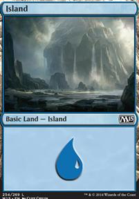 2015 Core Set: Island (254 A)