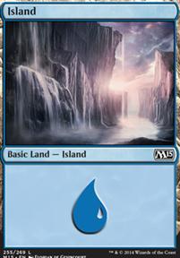 2015 Core Set: Island (255 B)
