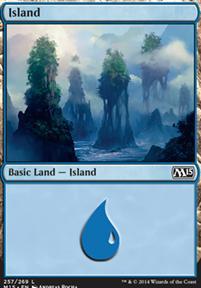 2015 Core Set: Island (257 D)