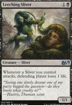 2015 Core Set: Leeching Sliver