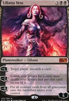 2015 Core Set: Liliana Vess