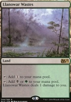 2015 Core Set: Llanowar Wastes