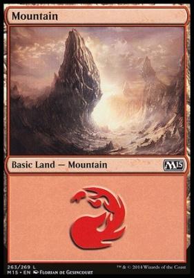 2015 Core Set: Mountain (263 B)