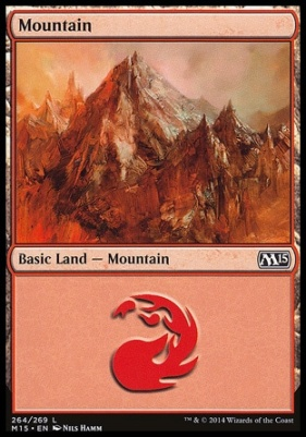 2015 Core Set: Mountain (264 C)