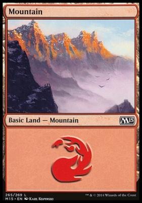 2015 Core Set: Mountain (265 D)