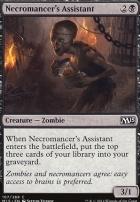 2015 Core Set Foil: Necromancer's Assistant
