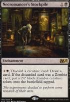 2015 Core Set Foil: Necromancer's Stockpile