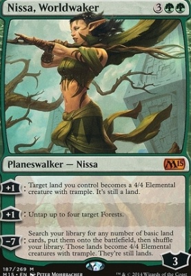 2015 Core Set: Nissa, Worldwaker