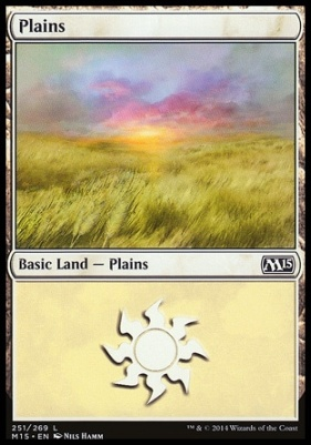 2015 Core Set: Plains (251 B)