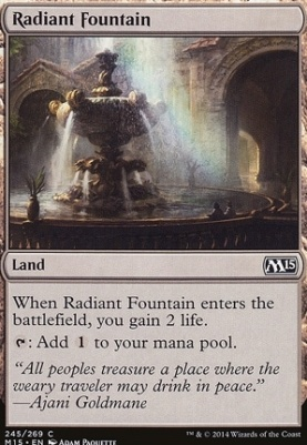 2015 Core Set: Radiant Fountain