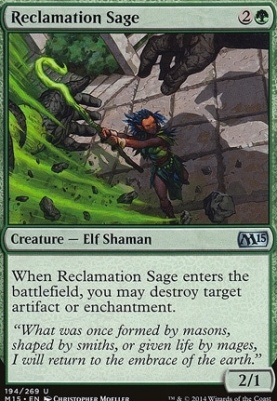 2015 Core Set: Reclamation Sage