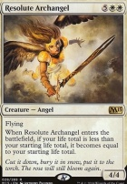 2015 Core Set Foil: Resolute Archangel