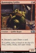 2015 Core Set Foil: Rummaging Goblin