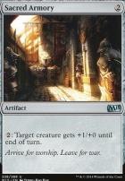 2015 Core Set Foil: Sacred Armory