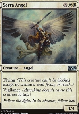 2015 Core Set: Serra Angel