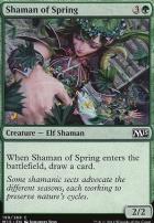 2015 Core Set Foil: Shaman of Spring