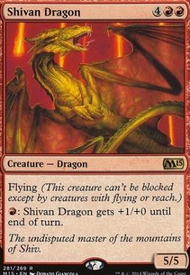 2015 Core Set: Shivan Dragon