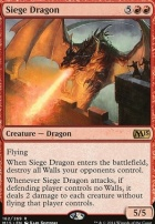 2015 Core Set: Siege Dragon