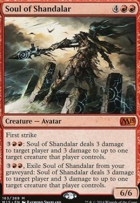 2015 Core Set Foil: Soul of Shandalar