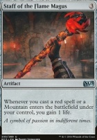 2015 Core Set: Staff of the Flame Magus