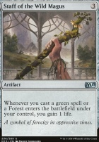 2015 Core Set: Staff of the Wild Magus