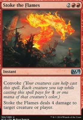 2015 Core Set: Stoke the Flames
