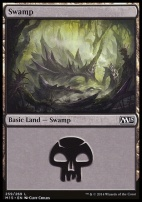 2015 Core Set: Swamp (259 B)