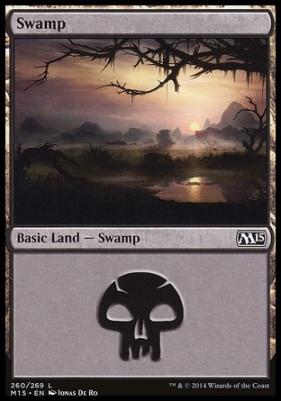 2015 Core Set: Swamp (260 C)
