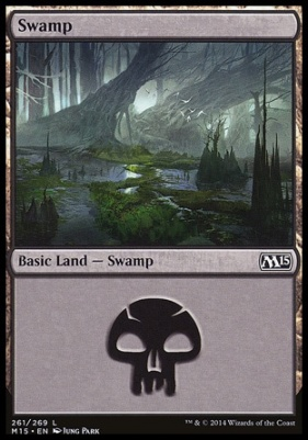 2015 Core Set: Swamp (261 D)