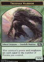 2015 Core Set: Treefolk Warrior Token