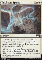 2015 Core Set Foil: Triplicate Spirits