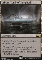 2015 Core Set Foil: Urborg, Tomb of Yawgmoth