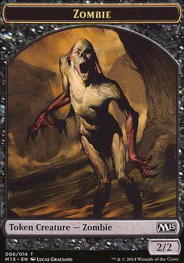 2015 Core Set: Zombie Token